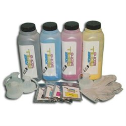 Toner Refill Store 4 Pack Toner with reset chips for Xerox Phaser 6700 106R01523 106R01524 106R01525 106R01526