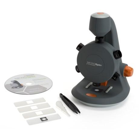 Microspin Digital Microscope - 2mp, 600x