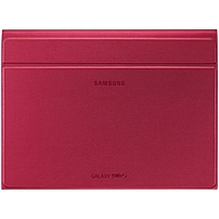 "Samsung Carrying Case (book Fold) For 10.5"" Tablet - Glam Red - 7.3"" Height X 9.8"" Width X 0.5"" Depth Ef-bt800breguj"