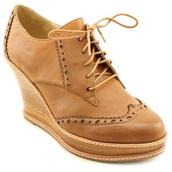 Report Yates Womens Tan Leather Fashion Ankle Boots UK 6