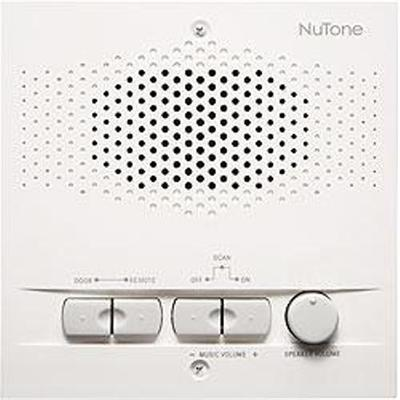Nutone Nrs103wh Indoor Remote Station - Retrofit For 3-wire Intercom Systems
