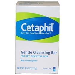 Cetaphil U-BB-1278 Gentle Cleansing Bar - 4.5 oz - Soap