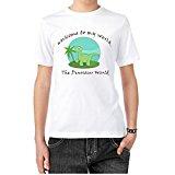 niceoneof The Dinosaur World Green Jungle Classic Women's Tee Shirt