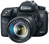 "Canon Eos 7d Mark Ii Digital Slr Camera With 18-135mm Is Stm Lens - 3"" Lcd Display - 16:9 - 7.5x Optical Zoom - Optical (is) - 5472 X 3648 Image - 1920 X 1080 Video - Hdmi - Pictbridge - Hd Movie Mode - Wireless Lan - Gps 9128b016"