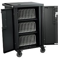 "Bretford Corex Cart - 3 Shelf - Steel - 33.2"" Width X 25.8"" Depth X 44.5"" Height - For 36 Devices Tcorex36"