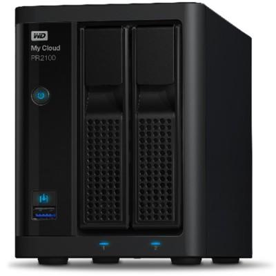 Wd Wdbbcl0080jbk-nesn Wd My Cloud Pr2100 Wdbbcl0080jbk - Nas Server - 2 Bays - 8 Tb - Hdd 4 Tb X 2 - Raid 0  1  Jbod - Gigabit Ethernet