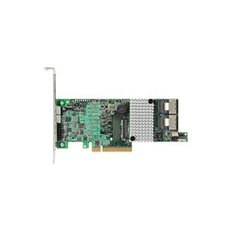 Lsi Logic Megaraid Sas 9266-8i - Serial Ata/600 - Pci Express 2.0 X8 - Plug-in Card - Raid Supported - 0, 1, 5, 6, 10, 50, 60 Raid Level - 2 Total Sas