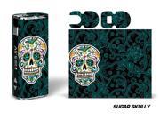 Designer Decal For Eleaf Istick 20w Vape - Sugar Skully