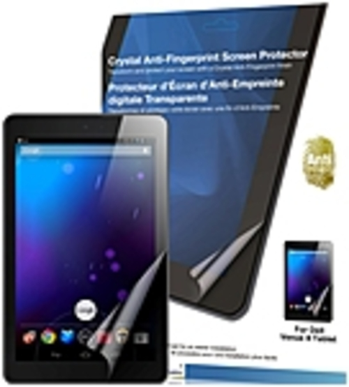 Green Onions Supply Crystal Anti-fingerprint Screen Protector For Dell Venue 8 Android Tablet - 8
