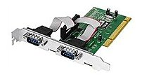 Siig Jj-p20511-s3 550-value 2-ports Serial Adapter - 16 Mbps - Pci