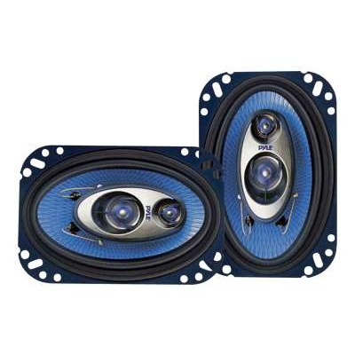 Pyle Pl463bl 4'' X 6'' 240 Watt Three-way Speakers - Pair