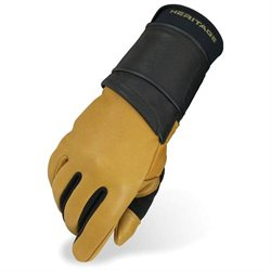 Heritage Pro 8.0 Bull Riding Glove (Left Hand Only) Adult 8 Natural Tan
