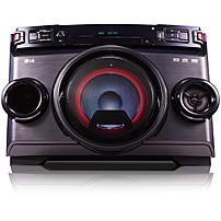 Lg Om4560 Mini Hi-fi System - 220 W Rms - Black - Cd Player - 1 Disc(s) - Fm - 2500 W Pmpo - 1 Speaker(s) - Cd-da, Mp3, Wma - Usb - Remote Control