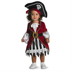 Toddler Pirate Princess Costume Disguise 1764 1764
