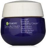 Garnier Skin Ultra-Lift Miracle Sleeping Cream Anti-Age Plus Anti-Fatigue Night Cream, 1.7 Ounce (Packaging May Vary)