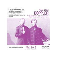 Franz & Karl Doppler: Musique pour flûte et piano, Vol. 2 et 3 (Music CD)