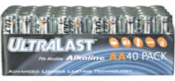 AA Alkaline Bulk Pack - 40 Pack Battery