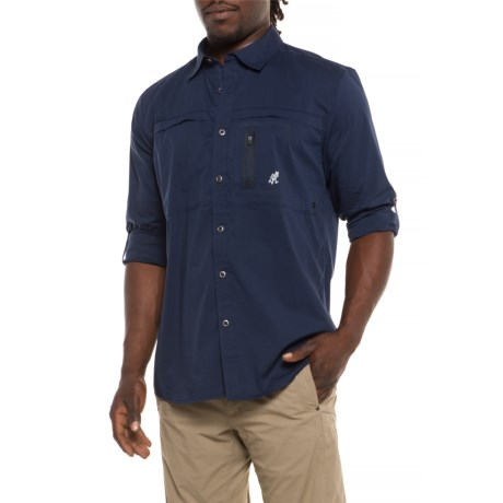 No-squito Shirt - Upf 40, Roll-up Long Sleeve (for Men)