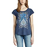 Lucky Brand Ladies' Graphic Tee, Navy, Large