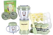 The BBR 2001 Baby Bullet Baby Food Preparation System has all the power and convenience of the Original Magic Bullet