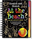 Scratch & Sketch At the Beach (An Art Activity Book for Beach Lovers of all Ages) (Trace-Along Scratch and Sketch)