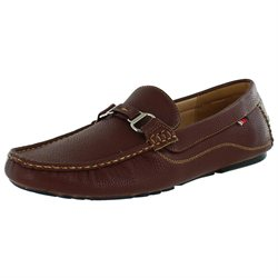 Phat Farm Mid Town Men's Driving Moccasins Shoes Slip On Faux Leather