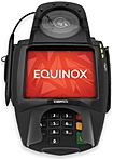 The Equinox L5300 has an 18 bit large LCD display, integrated capacitive glass touch screen, audio and video capabilities and electronic signature capture