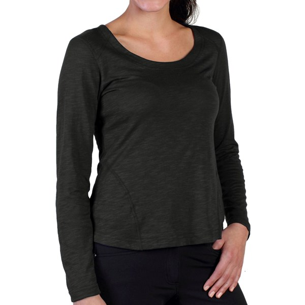 Exofficio Exo Javatech Shirt - Scoop Neck, Long Sleeve (for Women)