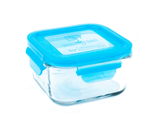 Wean Green Glass Lunch Cube, Blueberry, 16 Oz