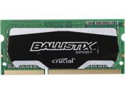 Ballistix Sport 4gb 204-pin Ddr3 So-dimm Ddr3l 1600 (pc3l 12800) Laptop Memory Model Bls4g3n169es4j