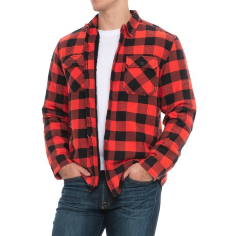 Brighton Sherpa Woven Shirt - Long Sleeve (for Men)