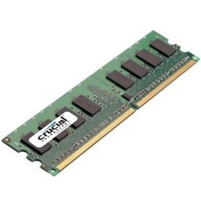 Crucial Ct25672ba1067 2gb  240-pin Dimm  Ddr3 Pc3-8500 Memory Module