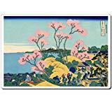 4020 Katsushika Hokusai - Goten-yama hill, Shinagawa on the Tōkaidō ukiyo-e mouse pad MADE IN JAPAN