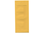 Jam Paper® #10 (4 1/8 X 9 1/2) Policy Envelopes - Gold Yellow - 25 Envelopes Per Pack