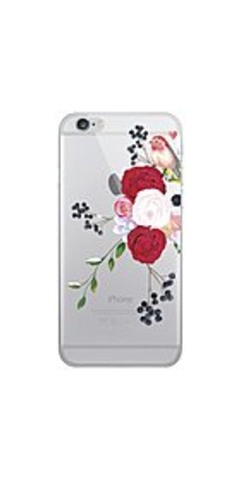 Otm Iphone 7/6/6s Plus Hybrid Clear Phone Case, Winter Bird - Iphone 7 Plus, Iphone 6 Plus, Iphone 6s Plus - Clear - Winter Bird