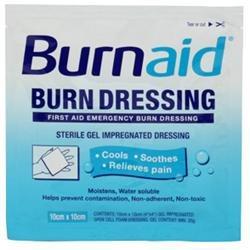 Rye Pharmaceuticals Burnaid Pain Relieving Gel Dressings - 4 X 4 1ct