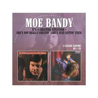 Moe Bandy - It's A Cheating Situation / She's Not Really Cheatin' (She's Just Getting' Even) (Music CD)