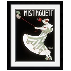 Mistinguett by Georges Kugelmann Benda Framed Fine Art Print - 31.24 x 25.62 , Figures, Framed Art