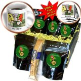 cgb_1559_1 Londons Times Famous People Places Books Cartoons - PICASSO S CASTRO NEOCUBA-ISM - Coffee Gift Baskets - Coffee Gift Basket