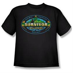 Youth(8-12yrs) SURVIVOR Short Sleeve ALL STARS XLarge T-Shirt Tee