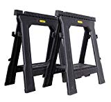 Stanley STST1-70713 Folding Sawhorse (Twin Pack)
