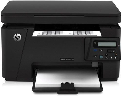 Hp Laserjet Pro Cz173abgj Mfp M125nw All-in-one Wireless Multifunction Monochrome Laser Printer, Copier, Scanner - Up To 21 Ppm - Up To 600 X 600 Dpi