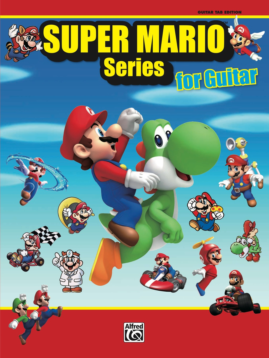 Super Mario Series For Guitar: 34 Super Mario Themes From The Nintendo® Video Game Collection Arranged For Guitar Tab (ebook)
