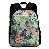 Tropical Illustration Kid Boys Girls Toddler Pre School Backpack Bags Lightweight
