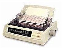 Okidata Moicroline 62415401 320 Turbo/n Dot Matrix Printer - 240 X 216 Dpi - 470 Cps - 9-pin - Narrow Parallel - 120v - White