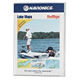 Navionics HotMaps Premium Canada Two-Dimensional Lake Maps on SD Card