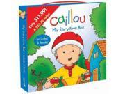 Caillou: My Storytime Box Clubhouse BOX Binding: Paperback Publisher: Pgw Publish Date: 2011/04/01 Language: ENGLISH Dimensions: 8.00 x 8.00 x 1.00 Weight: 1.16 ISBN-13: 9782897181055 Book Type: EASY FICTION