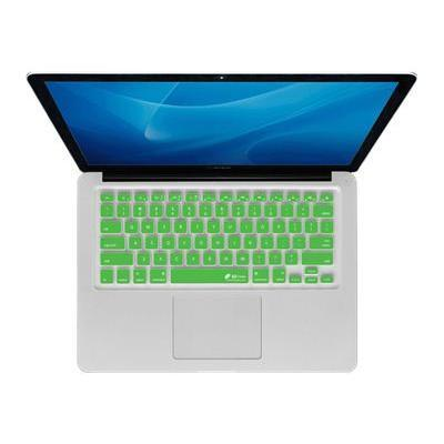Kb Covers Cb-m-green Checkerboard Keyboard Cover Cb-m-green - Notebook Keyboard Protector - Green  Clear - For Apple Macbook (13.3 In)  Macbook Air (13.3 In)  M