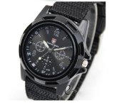 Army Black Military Watches Camper Watch