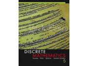 Discrete Mathematics 5 Binding: Hardcover Publisher: Pearson College Div Publish Date: 2005/11/25 Language: ENGLISH Pages: 664 Dimensions: 9.50 x 7.75 x 1.25 Weight: 2.75 ISBN-13: 9780321305152